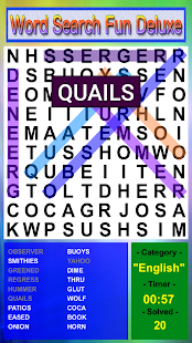 Word Search Fun Deluxe- screenshot thumbnail