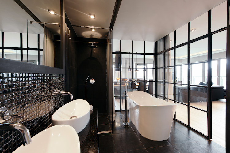 Bathroom at Exclusive Apartment Hotel Gdansk