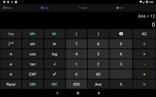 All-in-one Calculator 1.1.1 screenshots 5