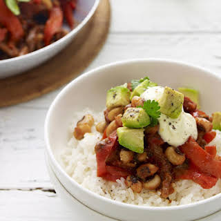 Chili Con Carne with Black Eyed Beans.