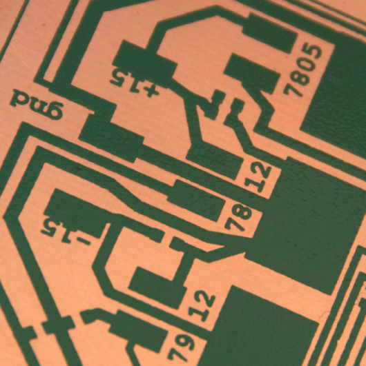 Etching your own printed circuit boards