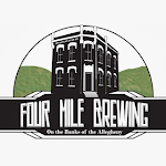 Logo of Four Mile Brown And White