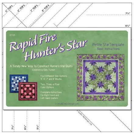 Linjal Studio 180 Rapid Fire Hunter's Star-Petite (12026)