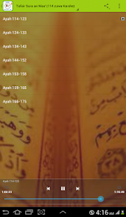 Tafsir Sura an Nisa' (114-end) - náhled