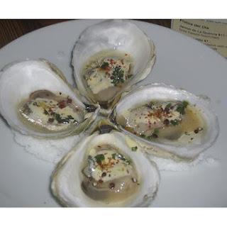 Oysters En Escabeche