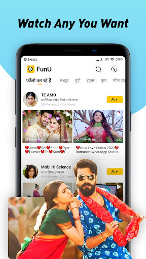 Funu Funny Zili Video App screenshot 4