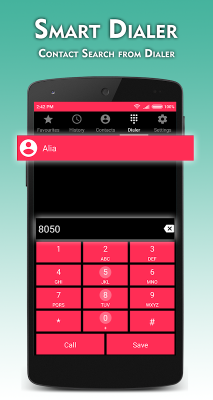 Metro Phone Dialer & Contacts Pro screenshots
