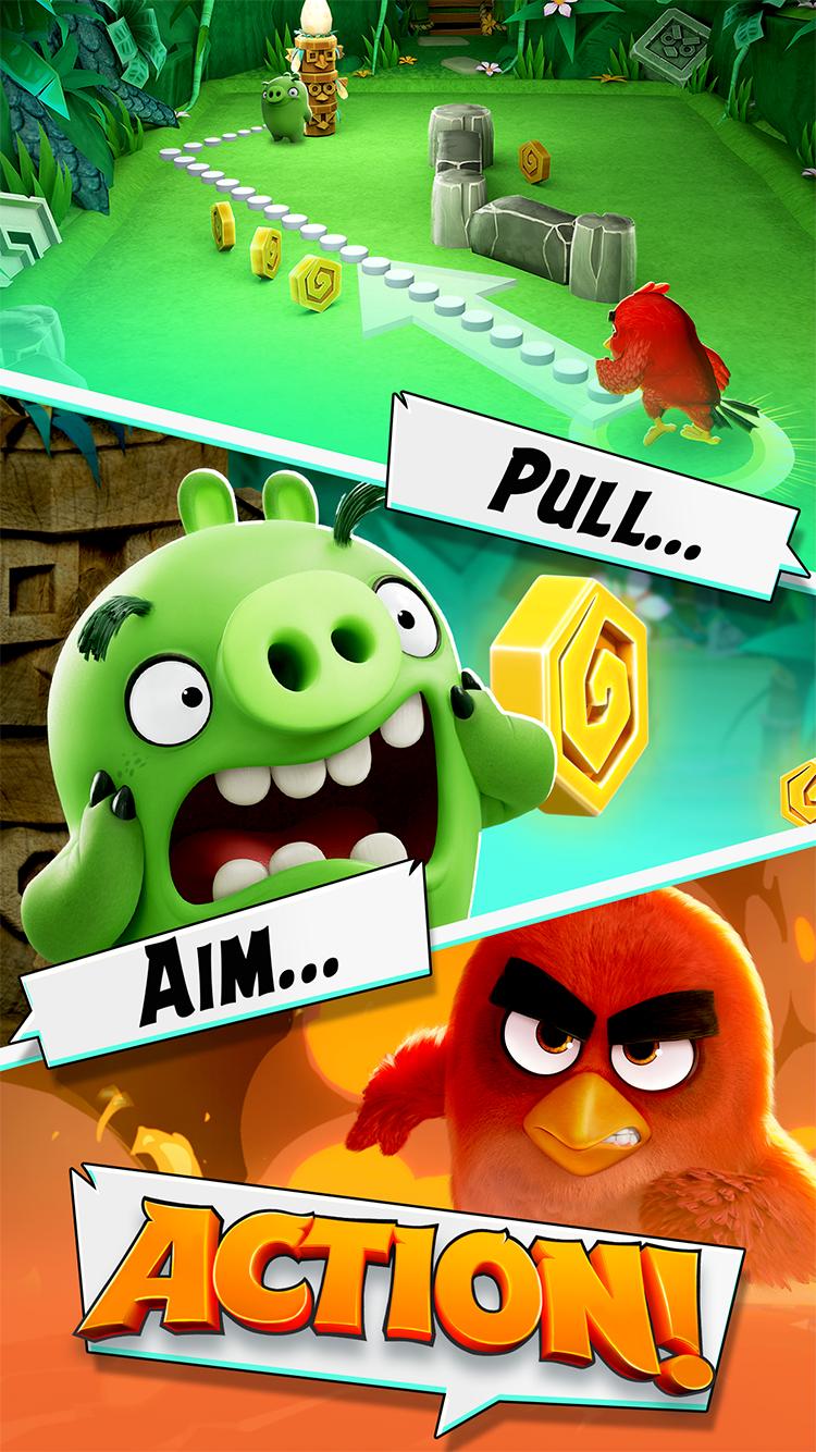 Angry Birds Action! screenshot #1