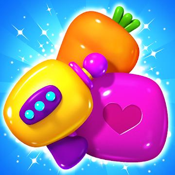 Little Odd Galaxy : Match 3 Puzzle MOD APK 1.1.15 (Unlimited Money)