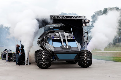 Mars Rover Concept Vehicle