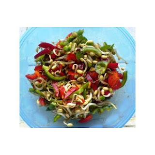 Sweet and Sour Bean Sprouts Salad