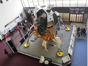 Photo: Lunar Module mockup in the Smithsonian