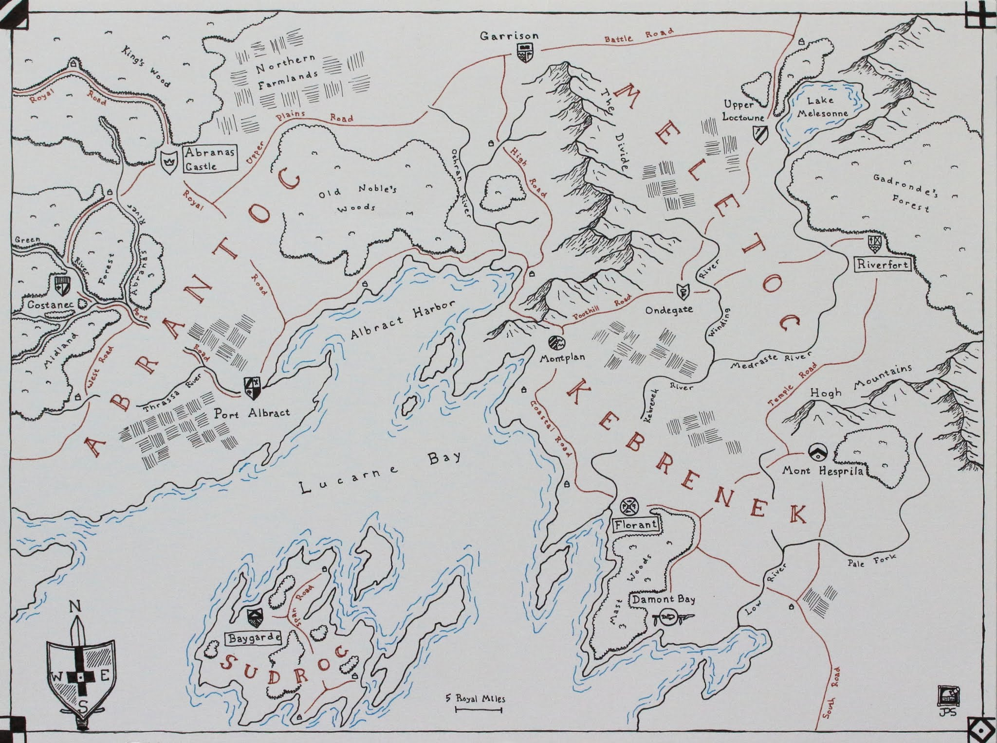 Photo: The Lands of Abrantoc, Meletoc, Kebrenek, and Sudroc