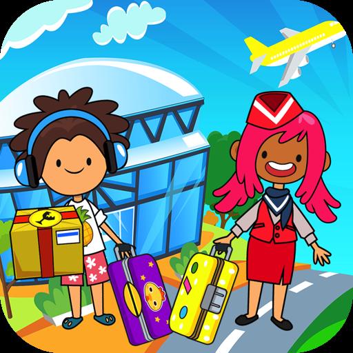 My Pretend Airport - Kids Travel Town FREE