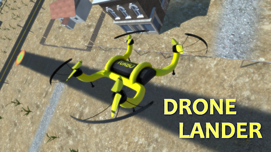 Drone Lander Simulator 3D - Free Flight Game- screenshot thumbnail