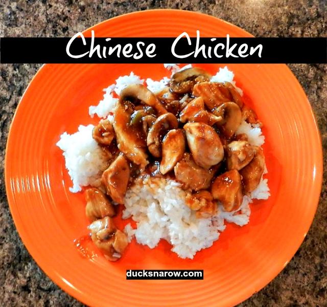 Chinese Chicken Recipe