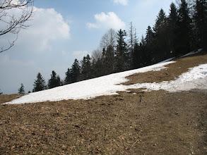 Photo: 20.Są jeszcze płaty topniejącego śniegu...