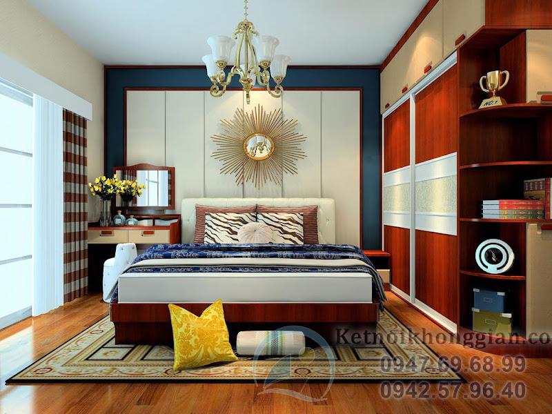 thiết kế phòng ngủ đẹp, sang trọng