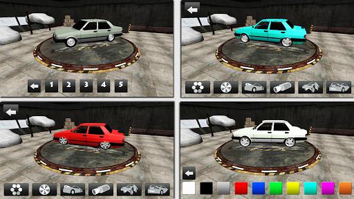 자동차 드리프트 경주 및 주차
