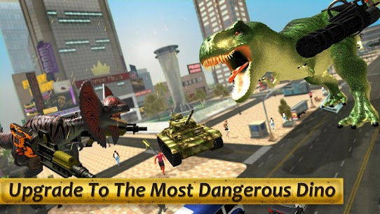 Dinosaur Battle Survival MOD (Unlimited Money) 5