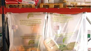 Sacos de Sigfito para la recogida de envases de fertilizantes