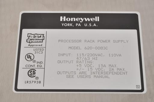Honeywell 620-0083C Processor Rack Power Supply