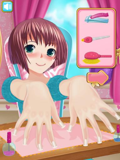 Anime Girl Nail Salon Manicure ? Nail Polish Game 1.0.8 screenshots 2