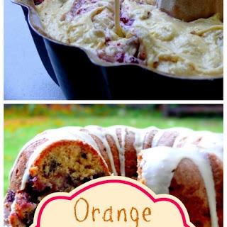 Cranberry-Orange Coffee Cake.