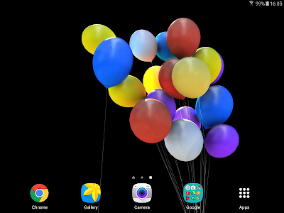Balloons 3D Live Wallpaper screenshot 7