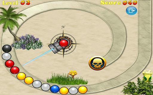 Marble Pirates Free Screenshot