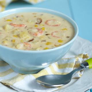 Cajun Corn & Shrimp Bisque Recipe