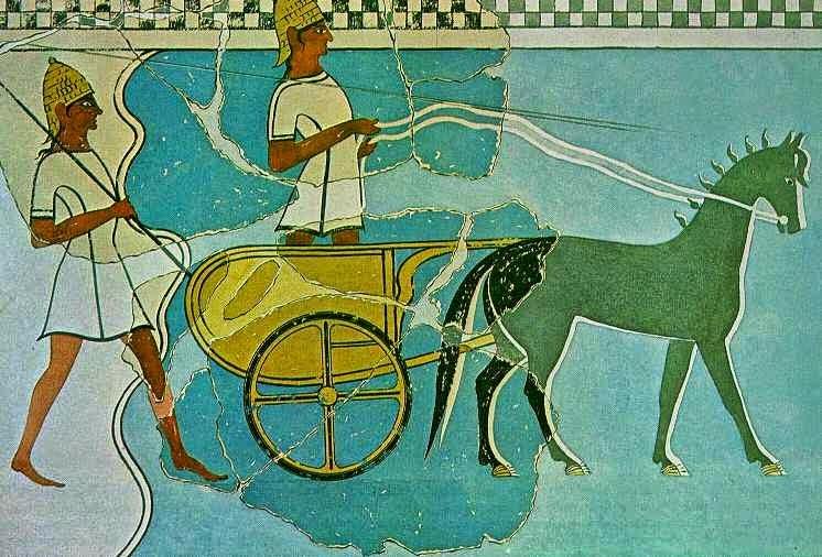 Pylos Fresco. Source: ΙΣΤΟΡΙΑ Α΄ ΓΥΜΝΑΣΙΟΥ