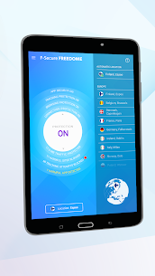 FREEDOME VPN Unlimited anonymous Wifi Security App Download For Android 7