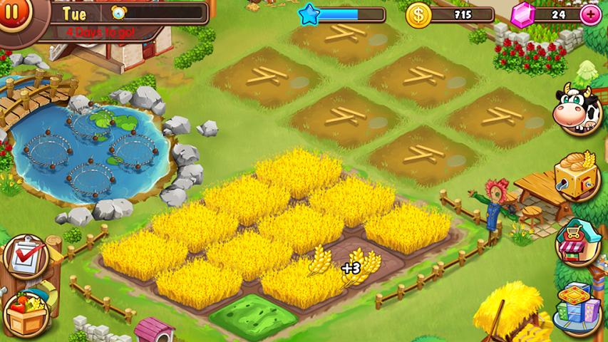 android Virtual Farm Business Village Screenshot 0