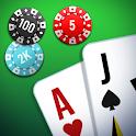 Blackjack 21 ♠️♥️ Play Fun Black Jack OFFLINE FREE icon