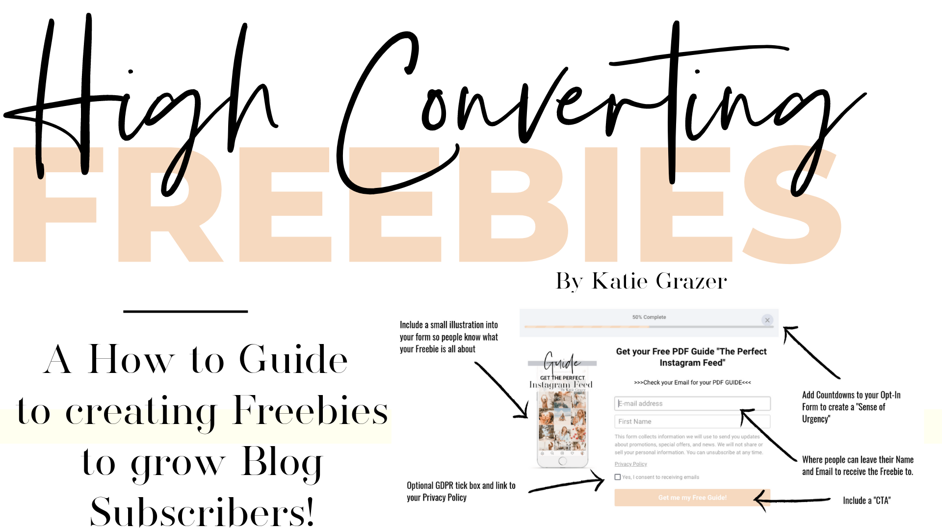 High Converting Freebie