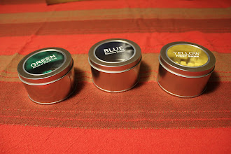 Photo: The tin containes keep growing.... They didn't have the smaller containers used in the physical proof in sufficient numbers, so I chose to upgrade to the bigger ones, rather than delaying more. They still fit easily into the box, so there is no negative impact.