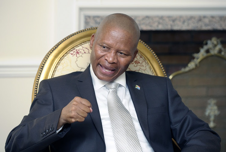Chief Justice Mogoeng Mogoeng. Picture: FINANCIAL MAIL