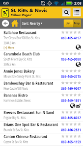 St. Kitts Nevis Yellow Pages screenshot 4