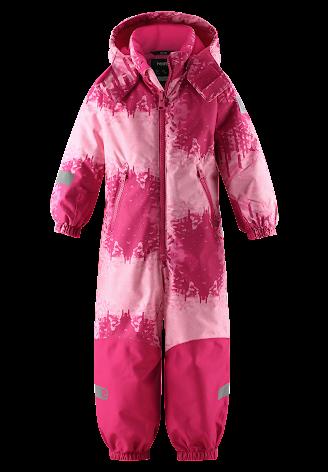 Reimatec Kiddo Snowy 520269B-4652 Raspberry Pink vinterdress
