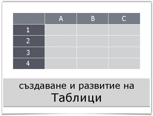 Таблици
