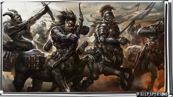Nordic Mythology Wallpaper - náhled