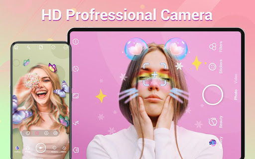 Selfie Camera: capturas de pantalla de Beauty Camera, Photo Editor 10