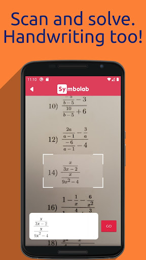 Symbolab - Math solver  screen 1
