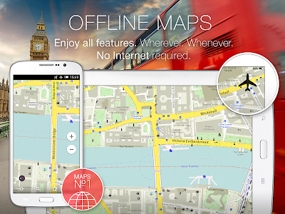 MAPS.ME –Offline Map & Routing v3.0.1