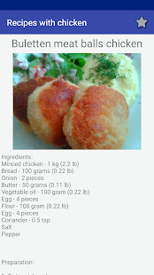 Download Recipes with chicken! Free! For PC Windows and Mac apk screenshot 4