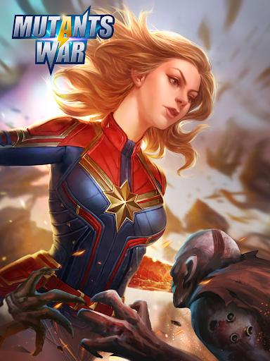 Mutants War: Heroes vs Zombies MMOSLG apktram screenshots 9