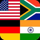 国、首都、旗を推測する icon