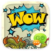 (FREE) GO SMS WOW THEME