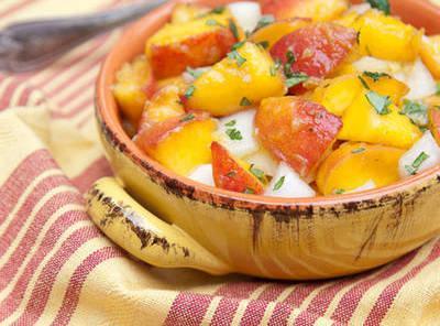 Jen's Peach Salsa Recipe